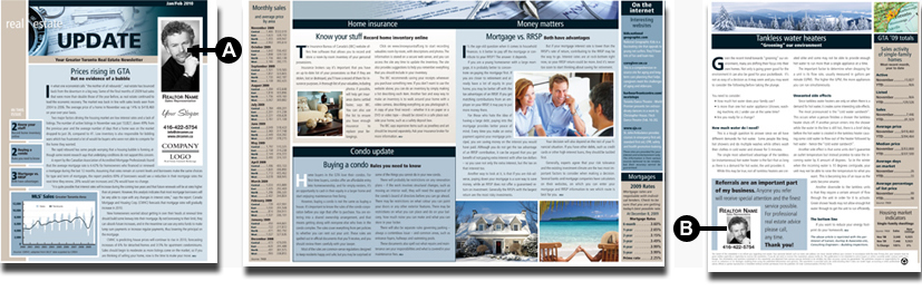 Clear Communications - Real Estate Newsletters - Canada Wide - E